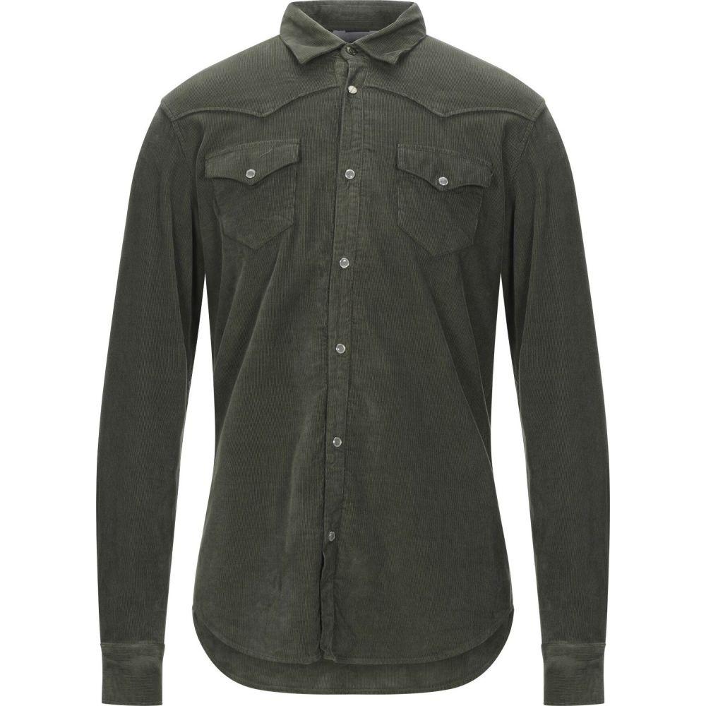 センス SSEINSE メンズ シャツ トップス【solid color shirt】Military green