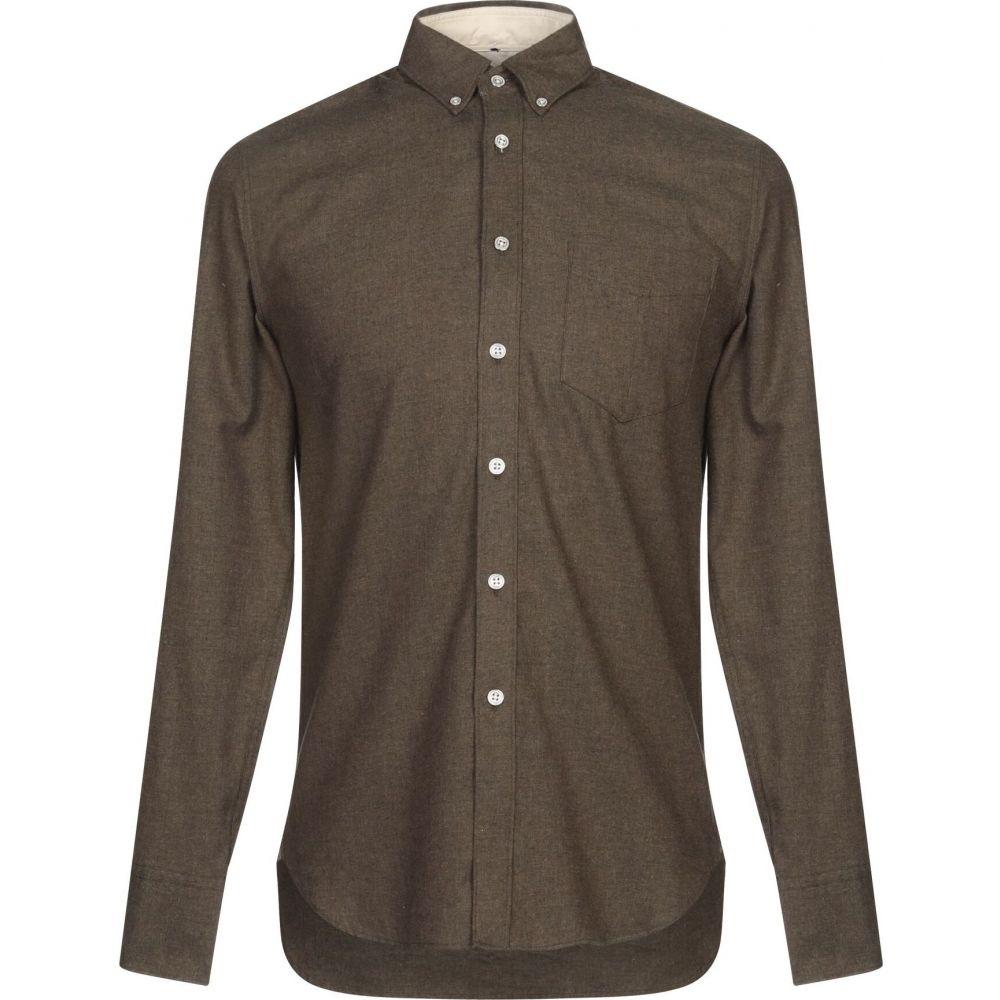 ラグ&ボーン RAG & BONE メンズ シャツ トップス【solid color shirt】Khaki