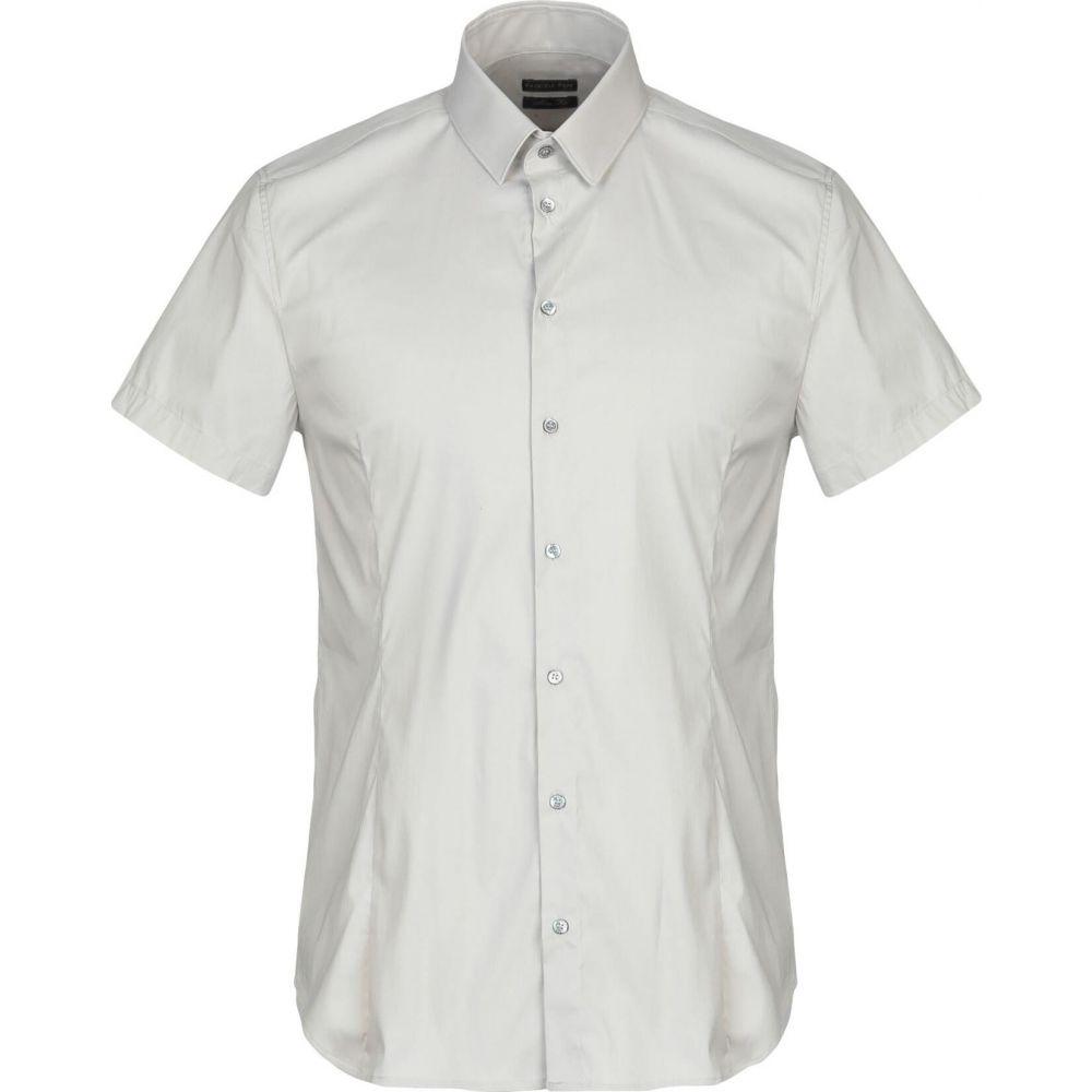 パトリツィア ペペ PATRIZIA PEPE メンズ シャツ トップス【solid color shirt】Light grey