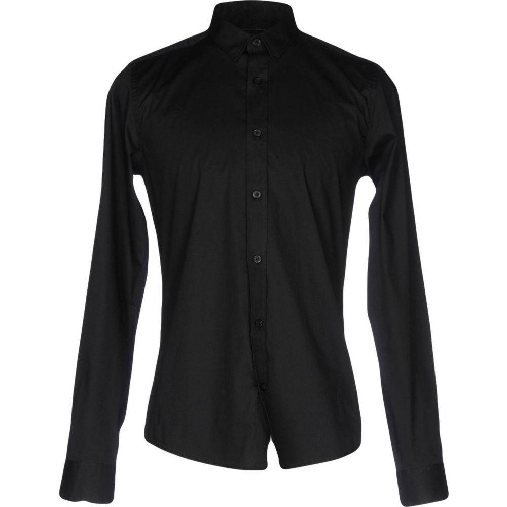 オンリーアンドサンズ ONLY & SONS メンズ シャツ トップス【solid color shirt】Black