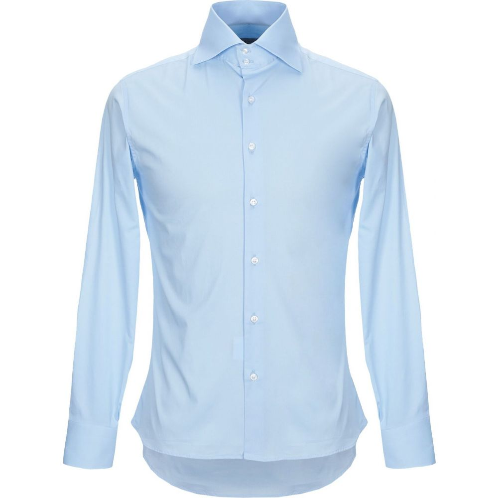 ニール カッター NEILL KATTER メンズ シャツ トップス【solid color shirt】Sky blue