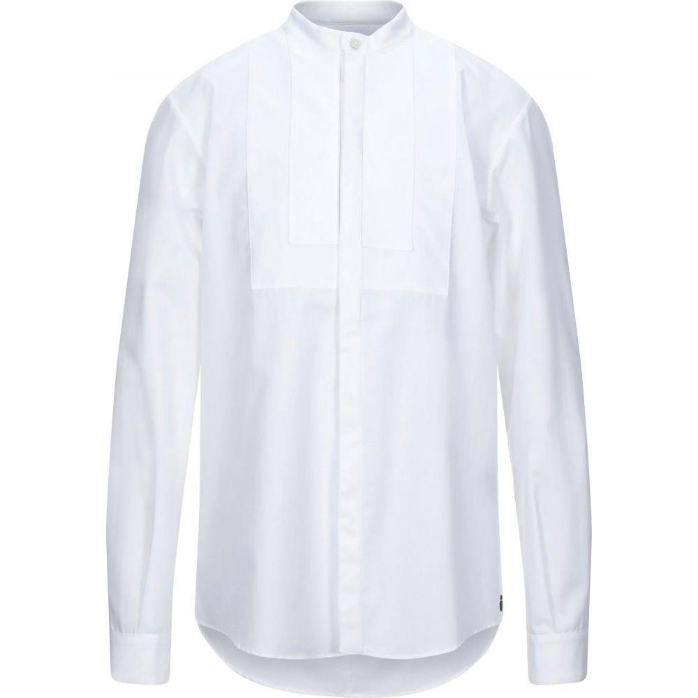 ノストラサンティッシマ NOSTRASANTISSIMA メンズ シャツ トップス【solid color shirt】White