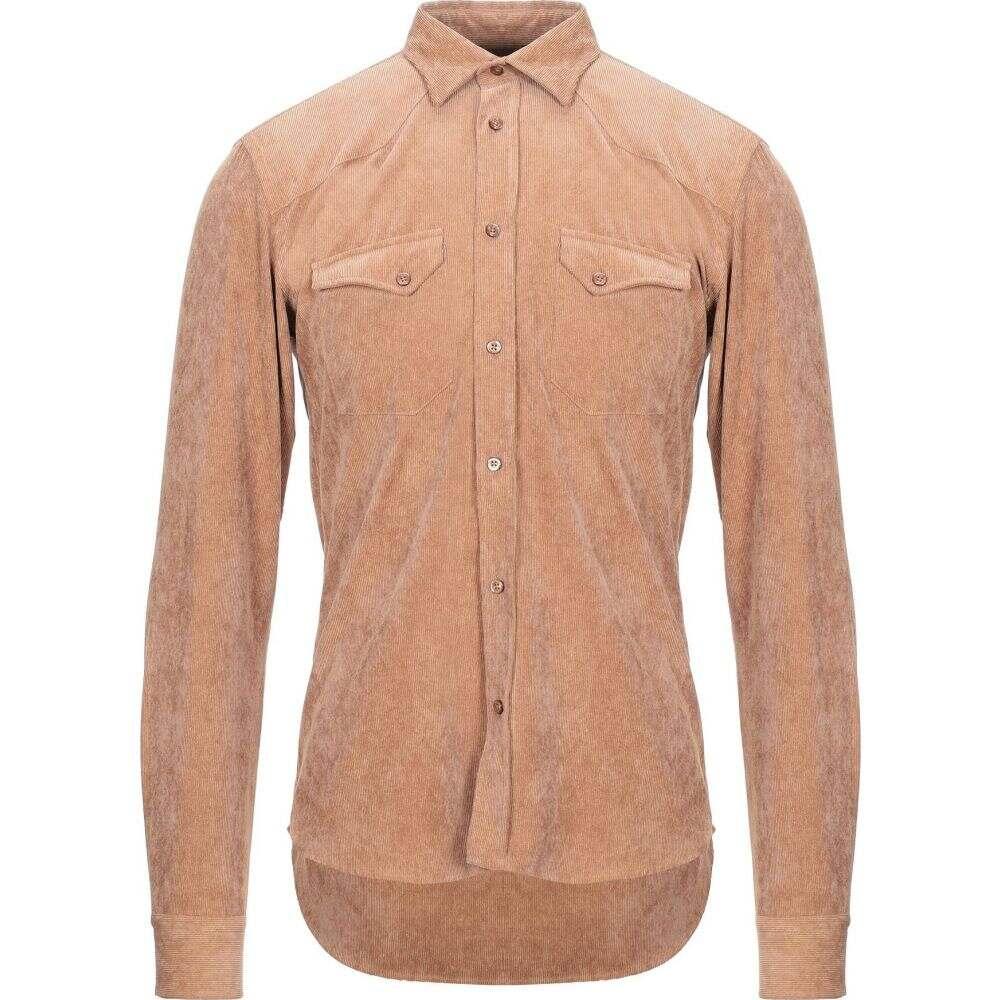スティロソフィー インダストリー STILOSOPHY INDUSTRY メンズ シャツ トップス【solid color shirt】Camel