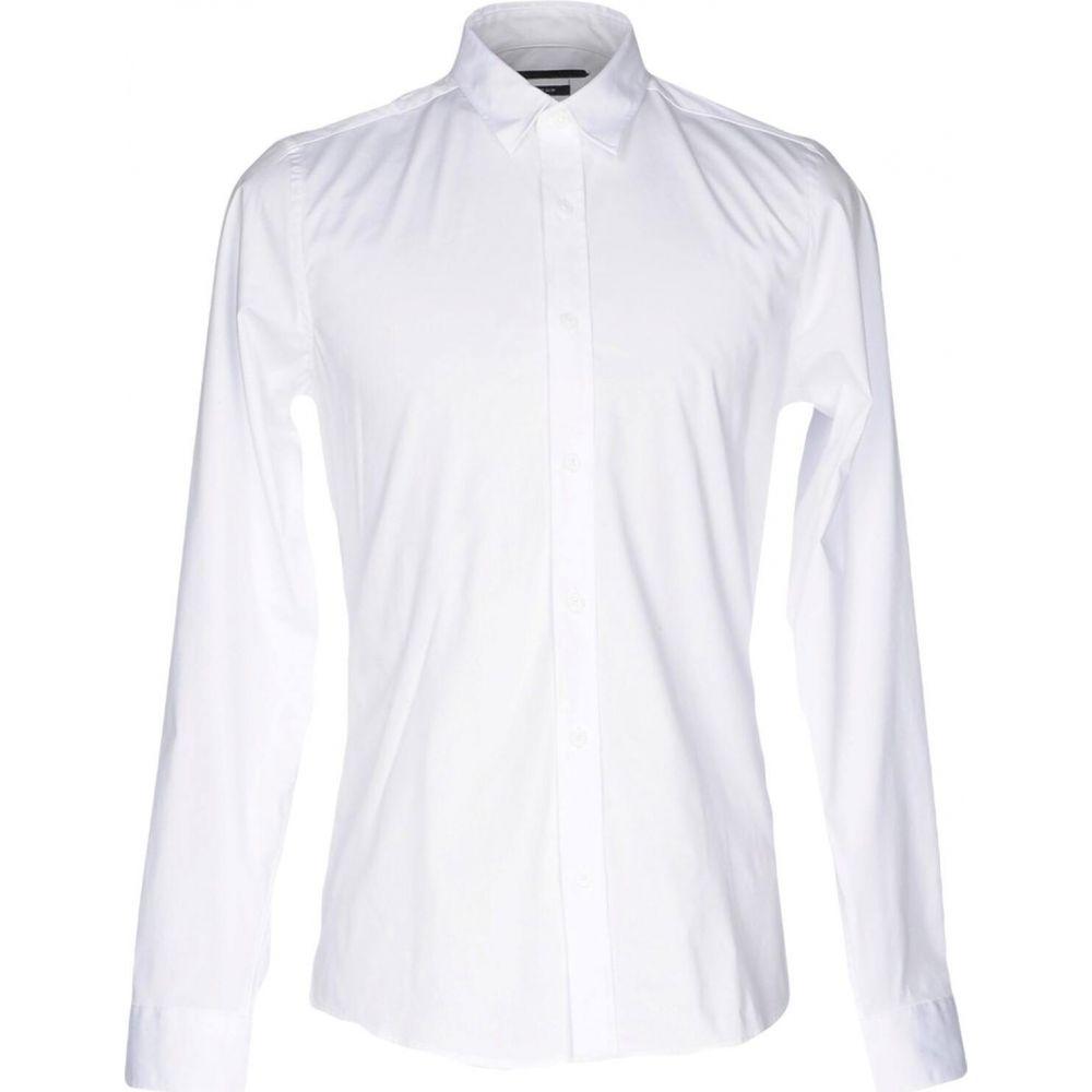 オンリーアンドサンズ ONLY & SONS メンズ シャツ トップス【solid color shirt】White
