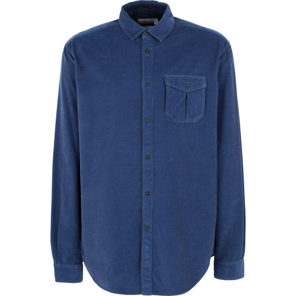 ナパピリ NAPAPIJRI メンズ シャツ トップス【gebil insignia blue solid color shirt】Bright blue