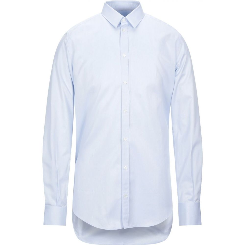 ラフムーア RAF MOORE メンズ シャツ トップス【solid color shirt】Sky blue