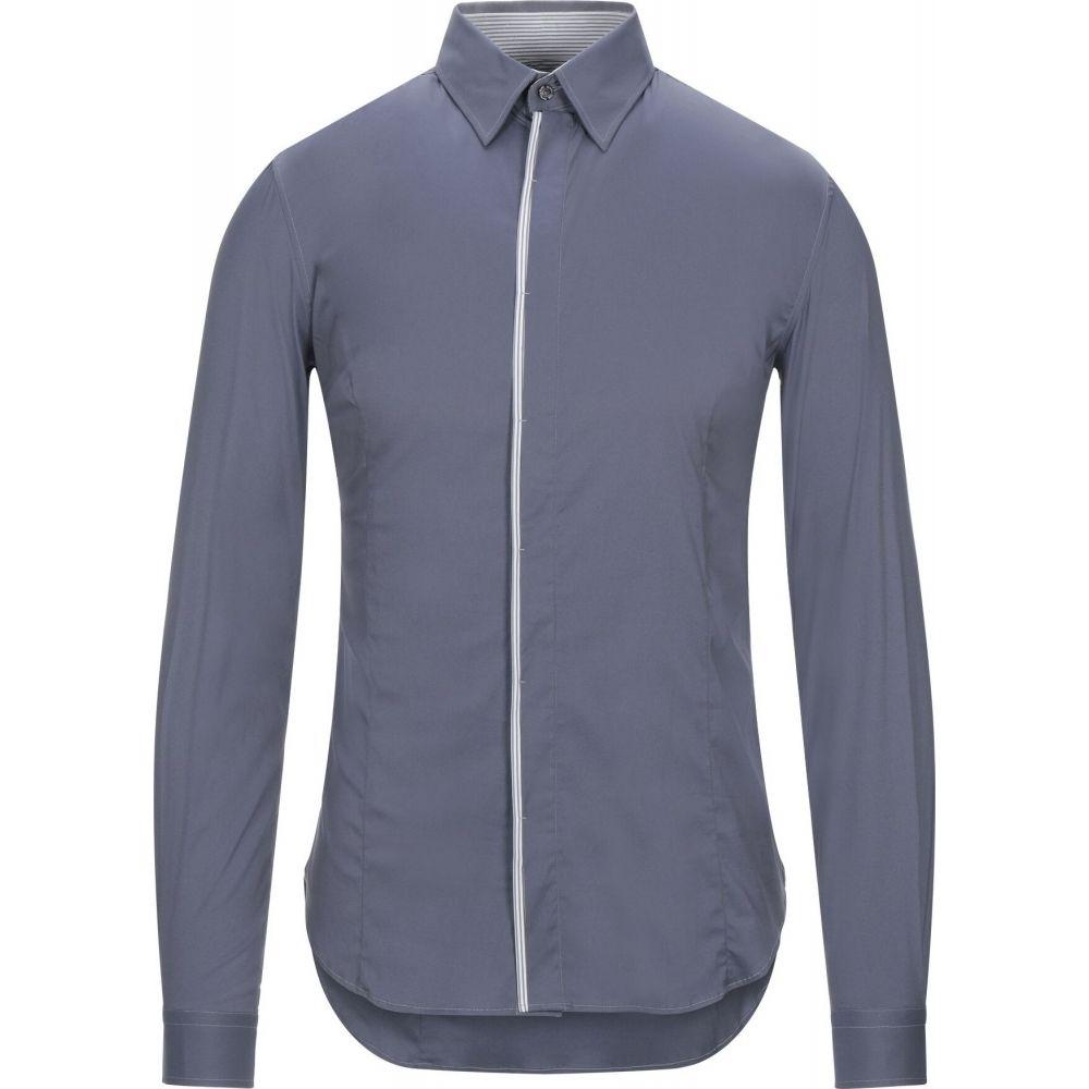 パトリツィア ペペ PATRIZIA PEPE メンズ シャツ トップス【solid color shirt】Grey