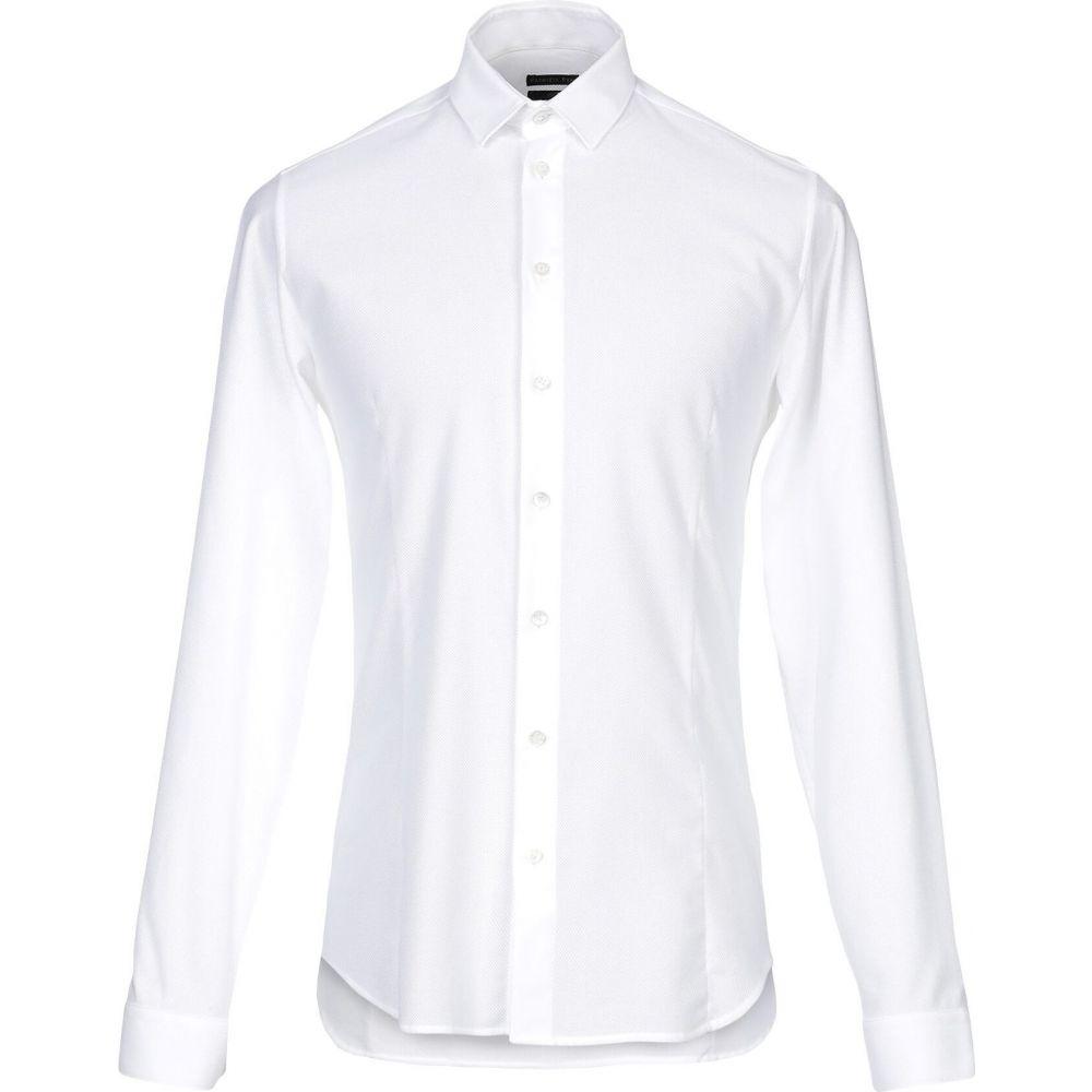 パトリツィア ペペ PATRIZIA PEPE メンズ シャツ トップス【solid color shirt】Ivory