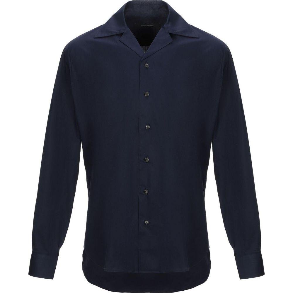 タケシ クロサワ TAKESHY KUROSAWA メンズ シャツ トップス【solid color shirt】Dark blue