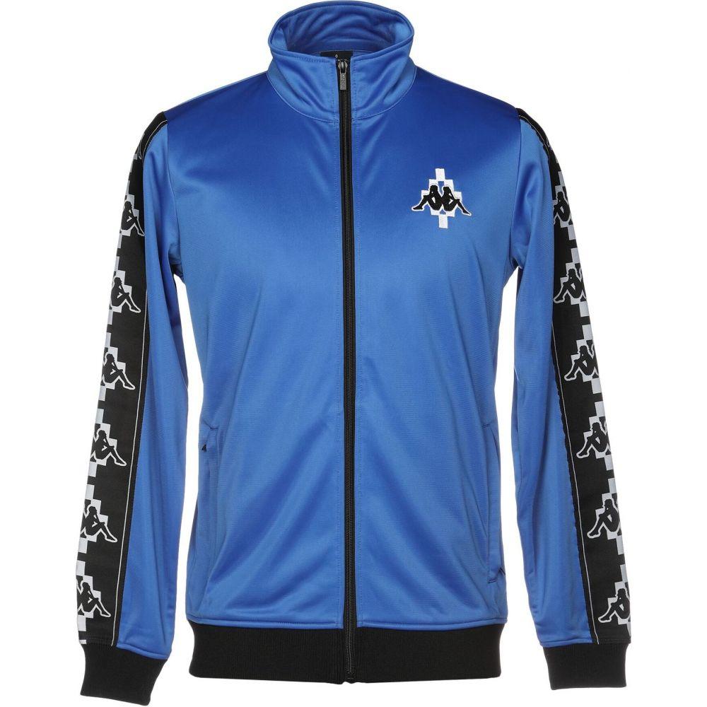 国内初の直営店 カッパ メンズ MARCELO BURLON x KAPPA メンズ MARCELO スウェット・トレーナー KAPPA トップス【Sweatshirt】Bright blue, 木島平村:1ada0c75 --- rishitms.com