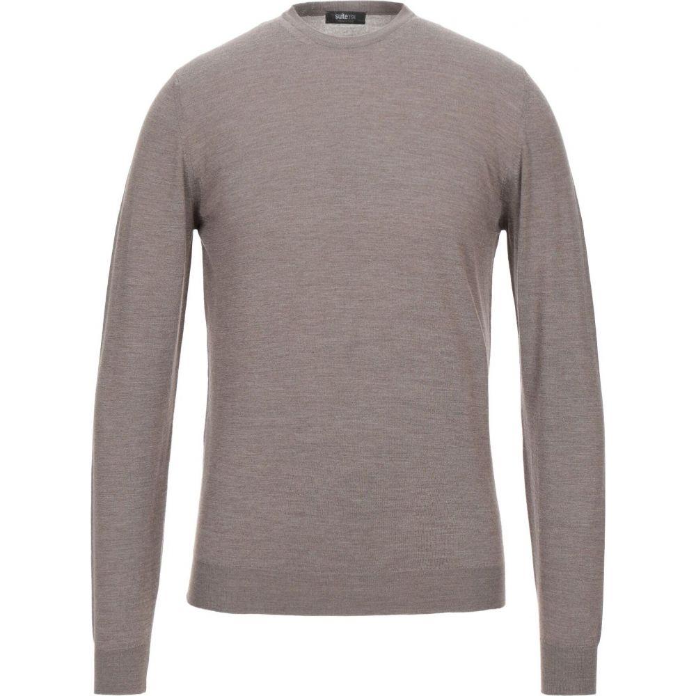 スイート191 メンズ トップス ニット セーター Sweater サイズ交換無料 毎日がバーゲンセール 191 Khaki SUITE 爆安プライス