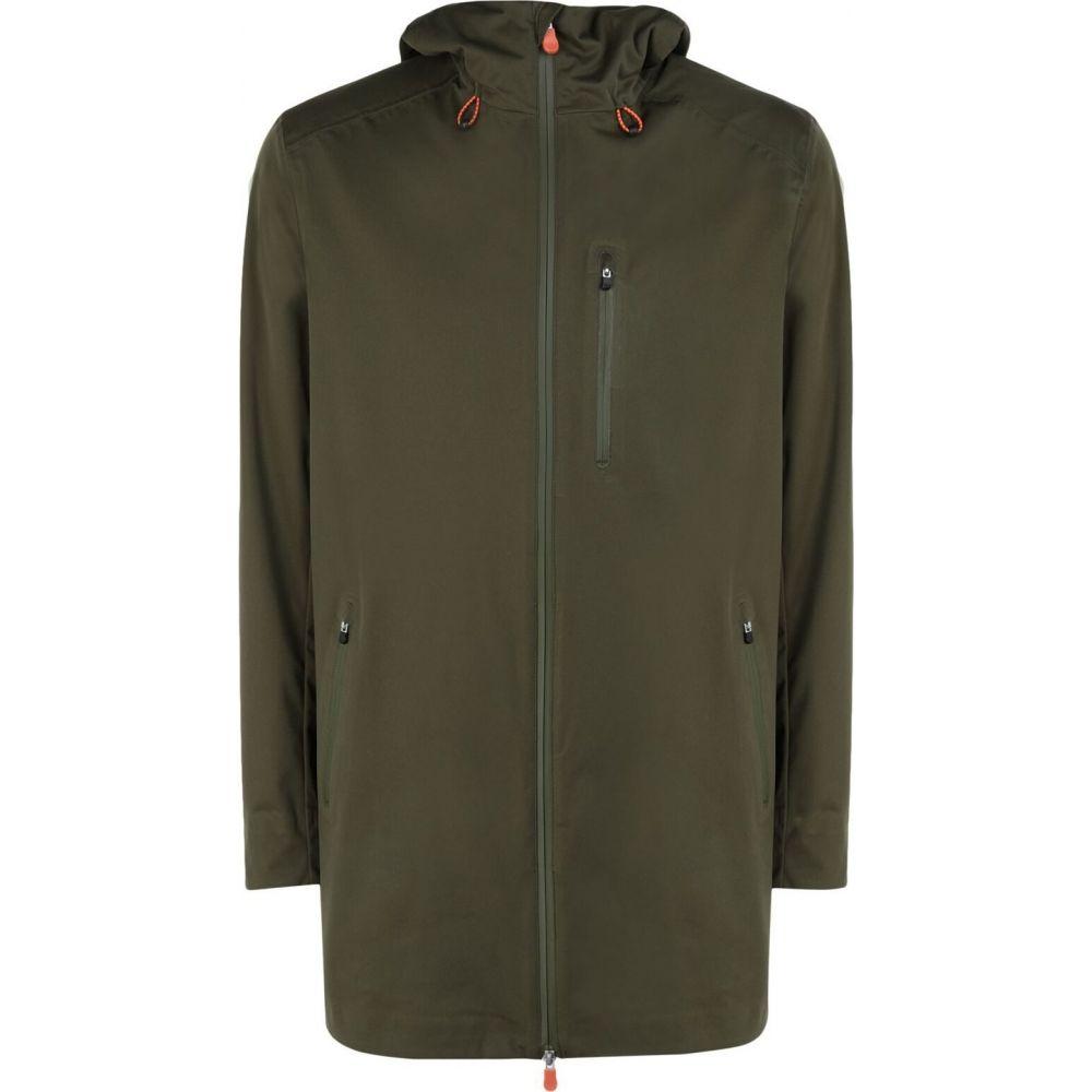 【驚きの値段】 セイブ ザ green ダック SAVE メンズ DUCK THE DUCK メンズ レインコート アウター【Full-Length Jacket】Military green, ミヤコグン:473b5b71 --- rishitms.com