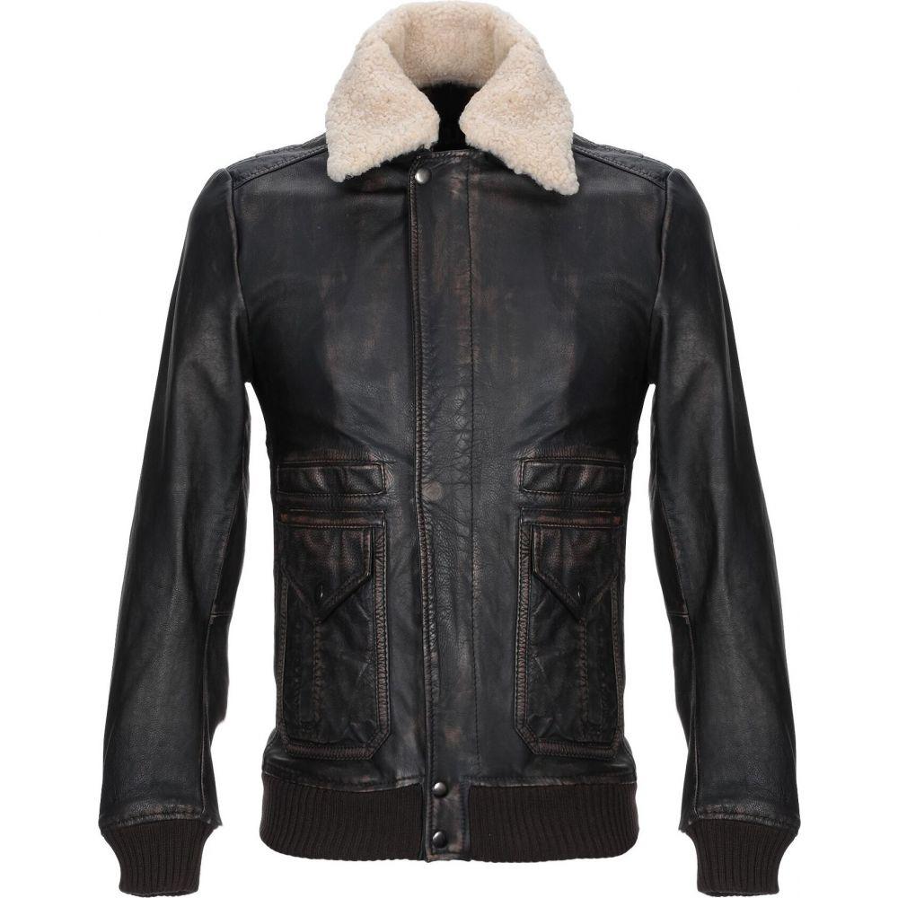 人気新品 S.W.O.R.D. brown メンズ レザージャケット アウター【Leather S.W.O.R.D. Jacket アウター【Leather】Dark brown, ムーンハートのロール屋さん:98225892 --- experiencesar.com.ar