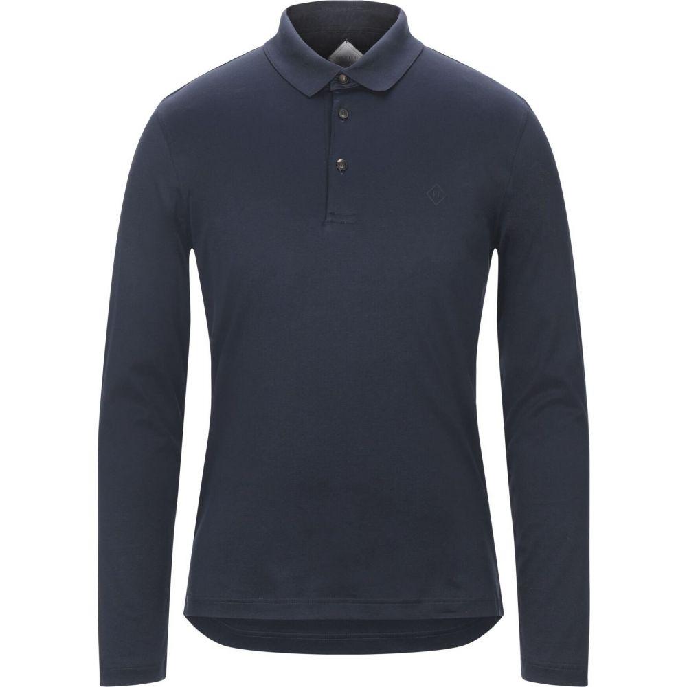 上品 パルジレリ PAL ZILERI メンズ ポロシャツ トップス【Polo Shirt】Dark blue, 株式会社ウエキ 20c44e13