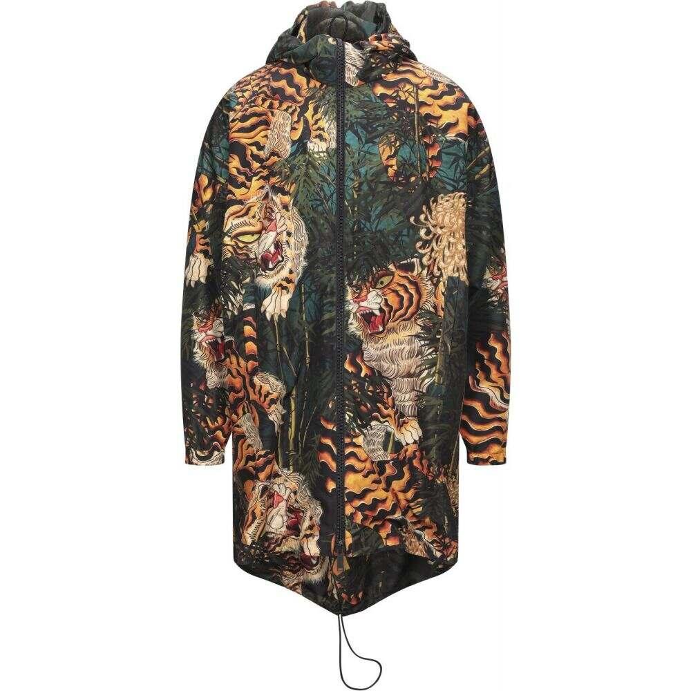 ディースクエアード ショップ メンズ アウター 定番スタイル ジャケット Dark サイズ交換無料 Full-Length Jacket green DSQUARED2