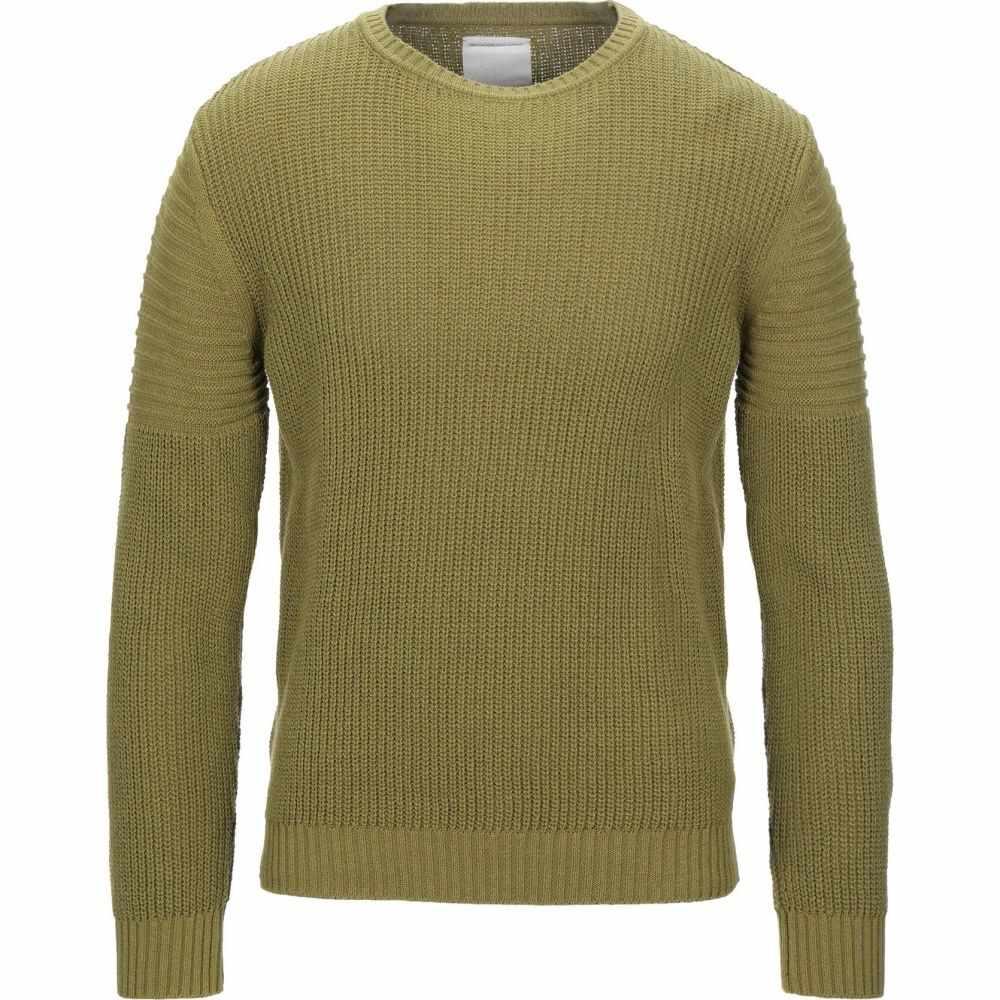 プレミアム ムード デニム スーペリア メンズ トップス ニット セーター 高い素材 Military DENIM green サイズ交換無料 Sweater MOOD SUPERIOR 品質検査済 PMDS PREMIUM