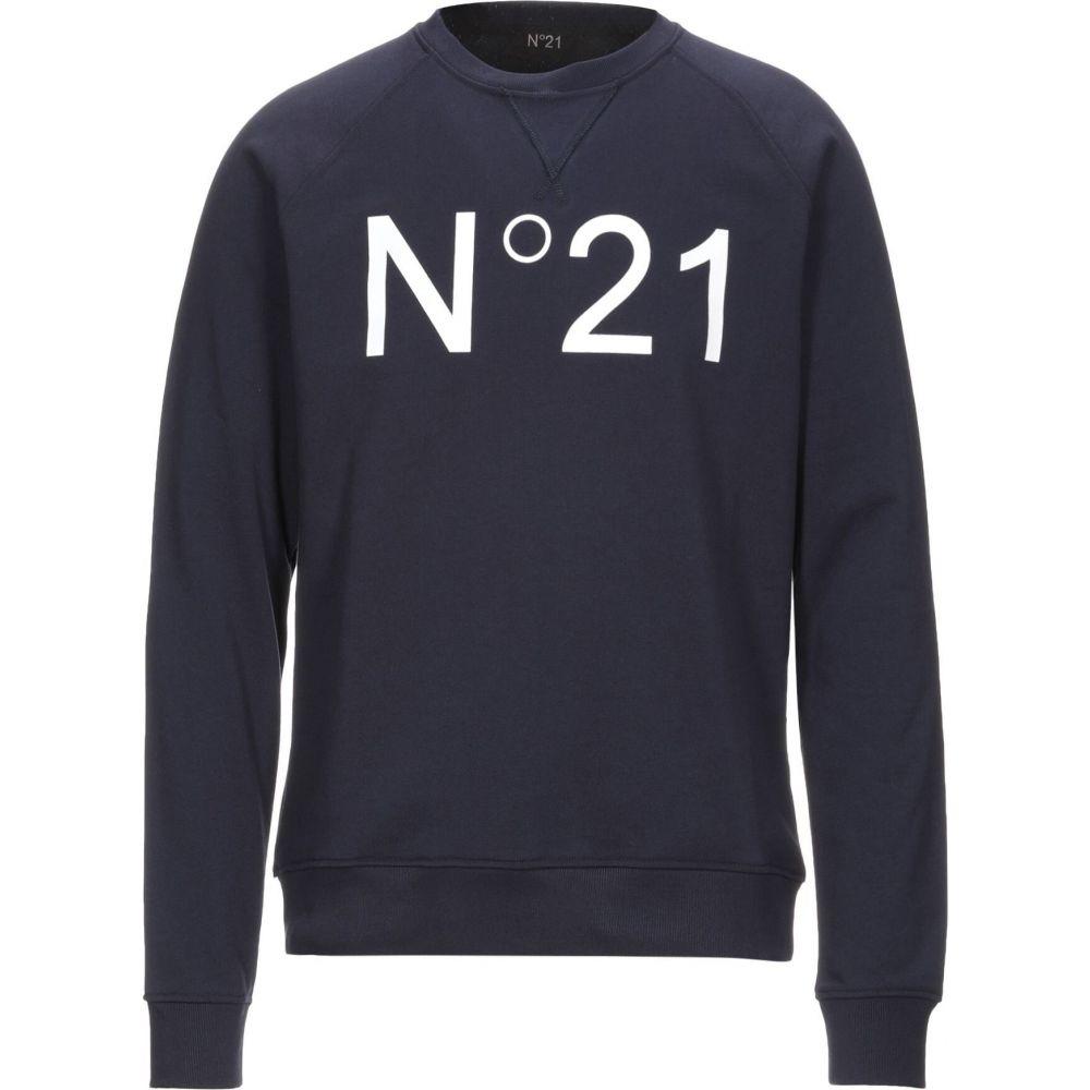 【期間限定特価】 ヌメロ ヴェントゥーノ N21 メンズ スウェット・トレーナー トップス【Sweatshirt】Dark blue, 国産ゴルフクラブメーカー 東邦 f5c84add
