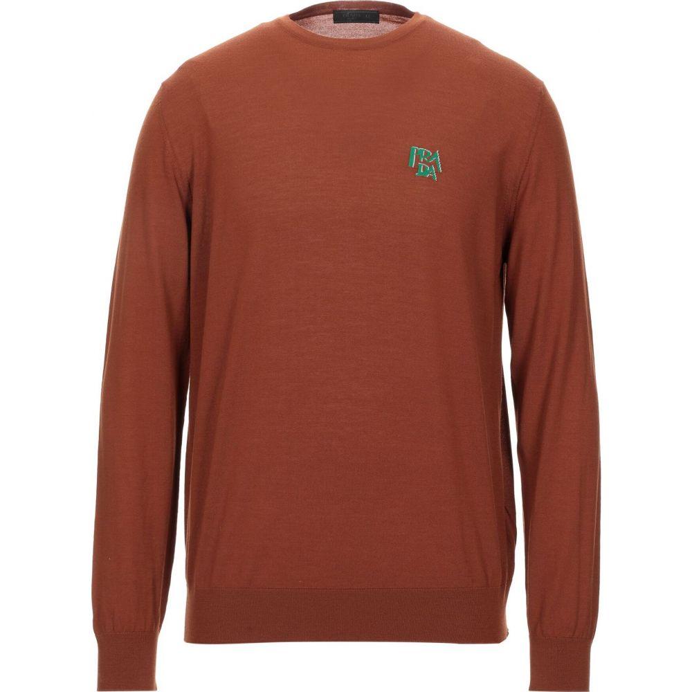 【30%OFF】 プラダ プラダ PRADA メンズ メンズ PRADA ニット・セーター トップス【Sweater】Brown, S.R.S.:0d31a813 --- tedlance.com