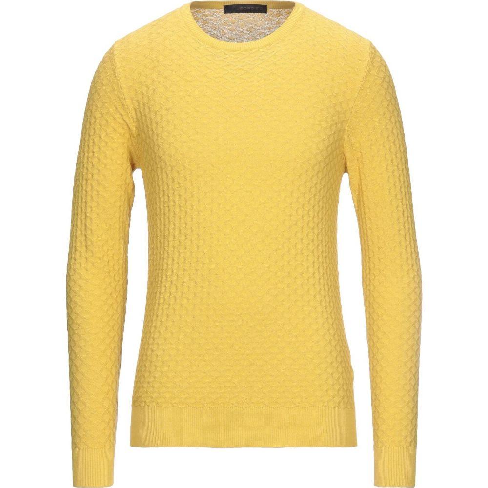 ジョルディーズ メンズ トップス ニット セーター サイズ交換無料 人気海外一番 JEORDIE'S Yellow Sweater 年間定番