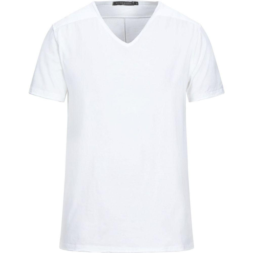 新発売 ブライアン デールズ BRIAN DALES メンズ Tシャツ トップス【T-Shirt】White, GLASS FIT(グラス フィット) 2a2f0a9b