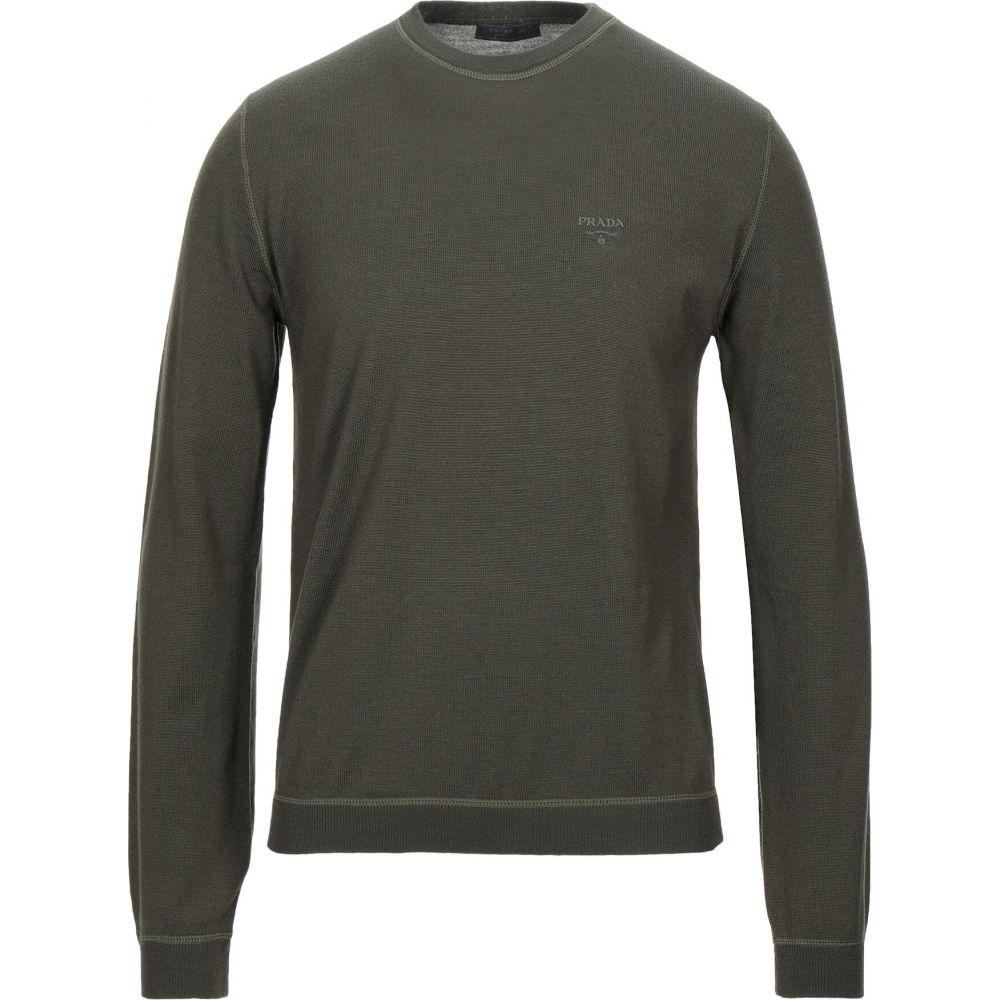 大特価!! プラダ PRADA メンズ メンズ ニット green・セーター トップス【Sweater PRADA】Military green, 酒のキンコー洋酒店:867f9f8d --- tedlance.com