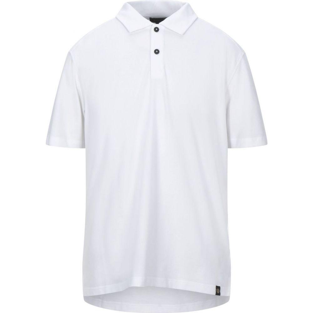 【史上最も激安】 ベルスタッフ BELSTAFF メンズ ポロシャツ トップス【Polo Shirt】White, TOKYO-DO 7e3ec702