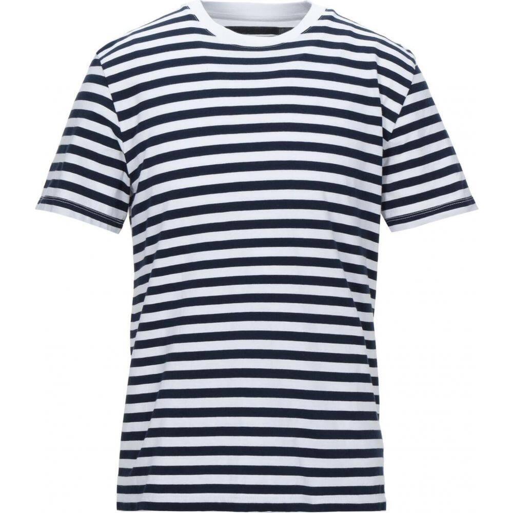 【メーカー公式ショップ】 メゾン マルジェラ MAISON Tシャツ MARGIELA blue メンズ マルジェラ Tシャツ トップス【T-Shirt】Dark blue, ミヤマエク:75995152 --- rishitms.com