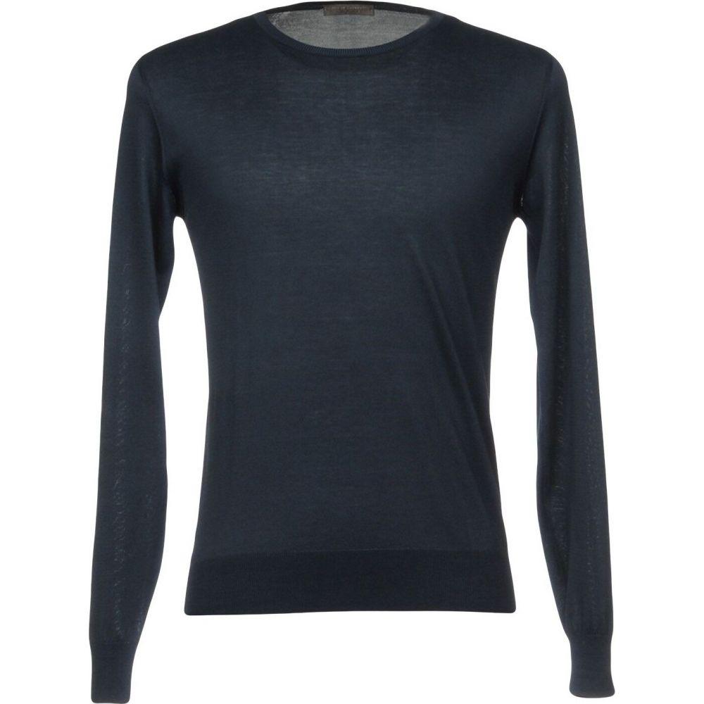 フィリッポ デ バースデー 記念日 ギフト 贈物 お勧め 通販 ローレンティス メンズ 新色追加 トップス ニット セーター LAURENTIIS サイズ交換無料 FILIPPO DE Sweater Dark blue