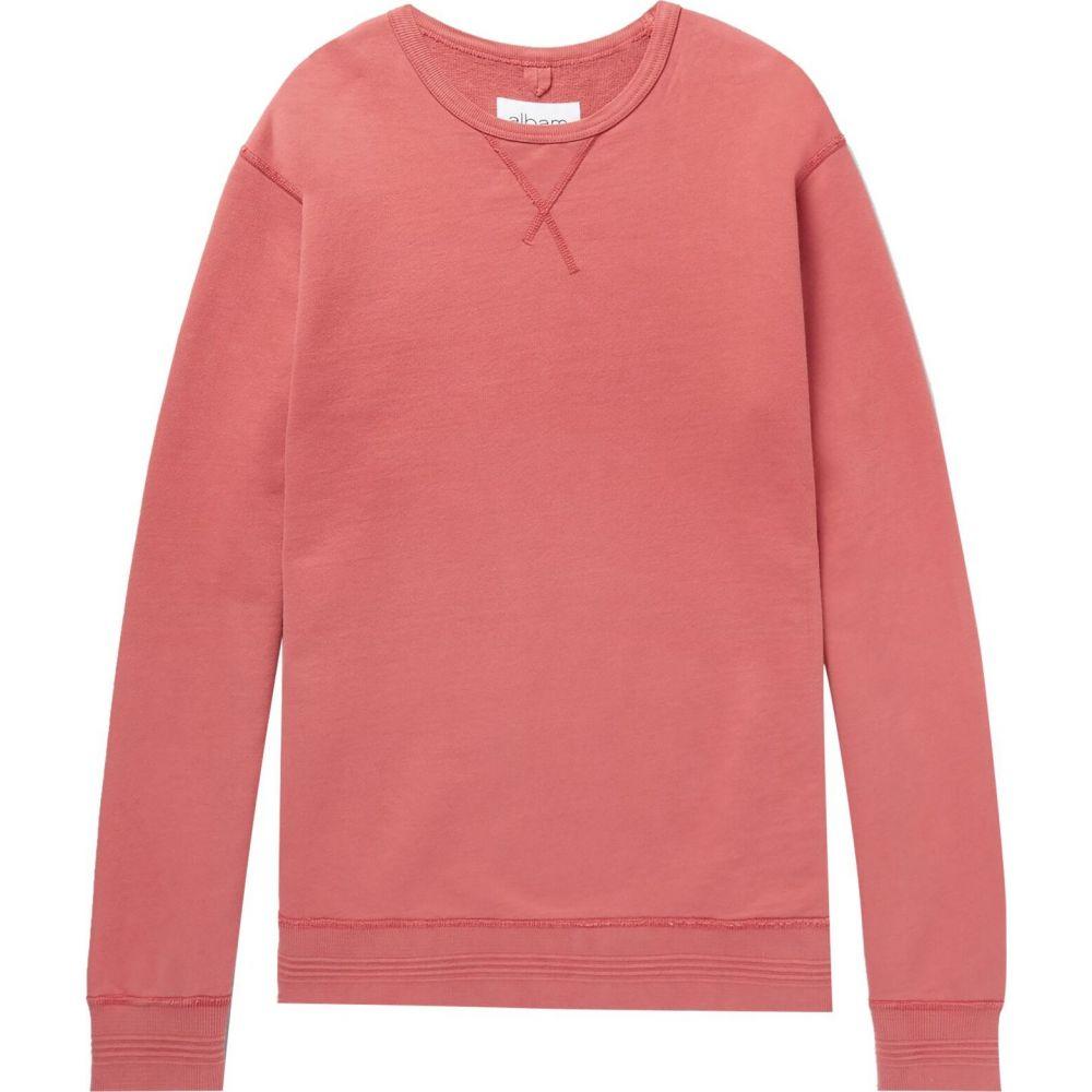 アルバム ALBAM メンズ スウェット・トレーナー トップス【sweatshirt】Pastel pink