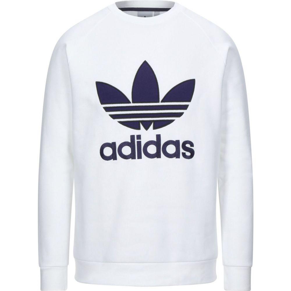 アディダス ADIDAS ORIGINALS メンズ スウェット・トレーナー トップス【sweatshirt】White