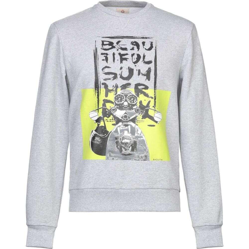 バグッタ BAGUTTA メンズ スウェット・トレーナー トップス【sweatshirt】Grey