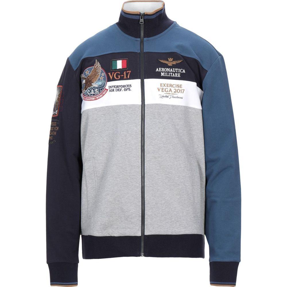 アエロナウティカ ミリターレ AERONAUTICA MILITARE メンズ スウェット・トレーナー トップス【sweatshirt】Light grey