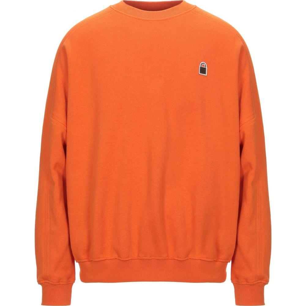 ブシェミ BUSCEMI メンズ スウェット・トレーナー トップス【sweatshirt】Orange