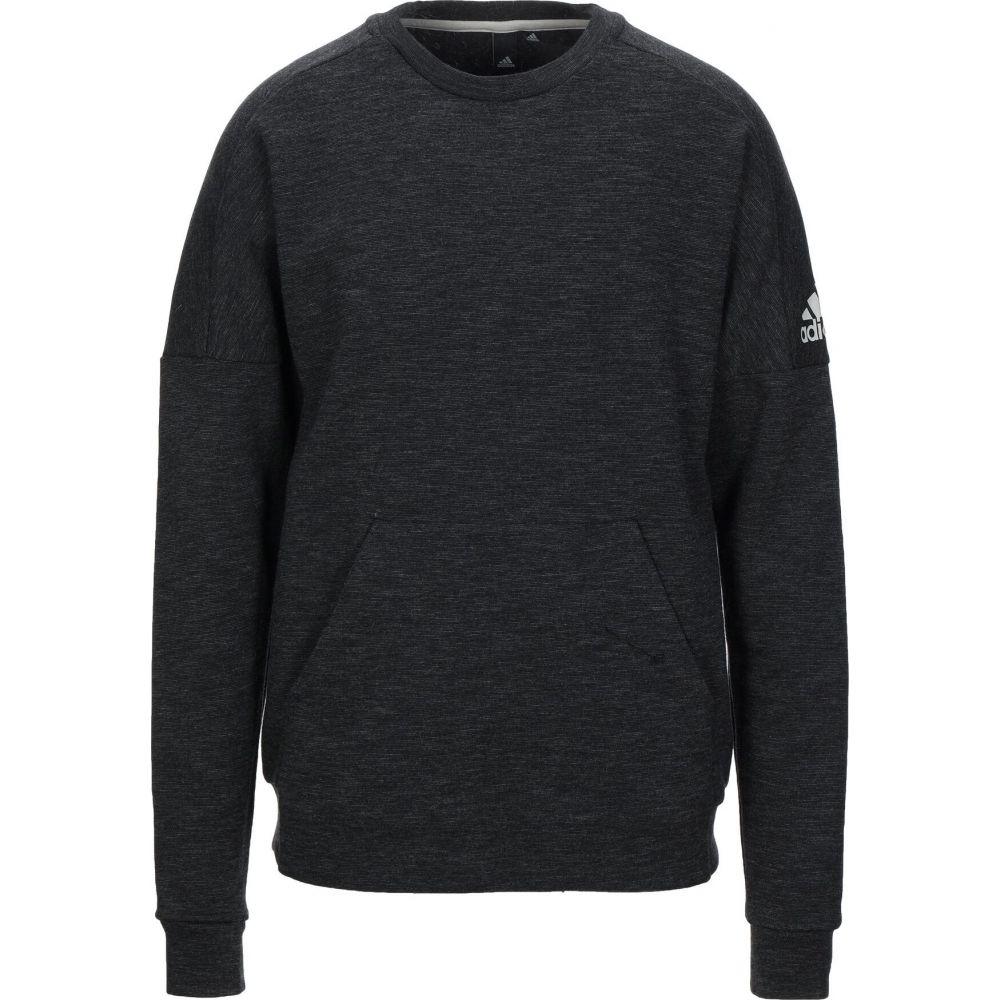 アディダス ADIDAS メンズ スウェット・トレーナー トップス【sweatshirt】Steel grey