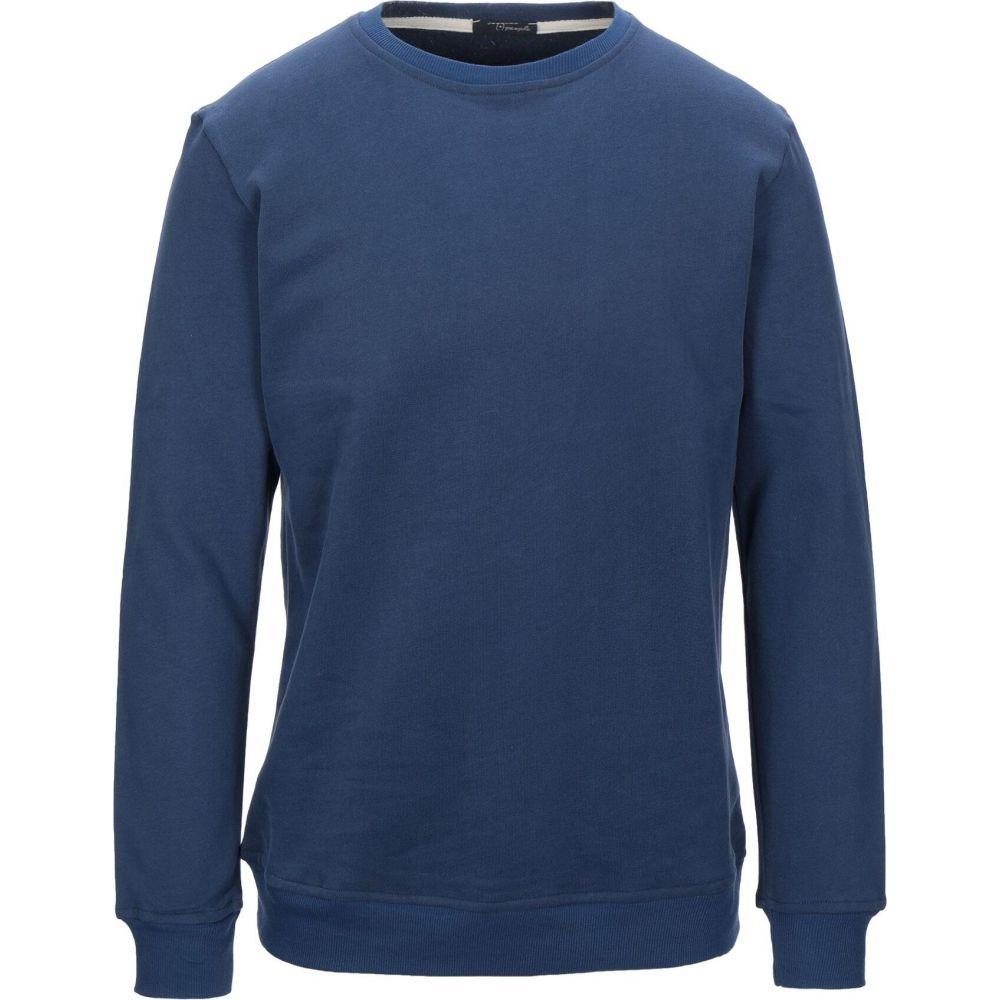 プラスピープル (+) PEOPLE メンズ スウェット・トレーナー トップス【sweatshirt】Blue