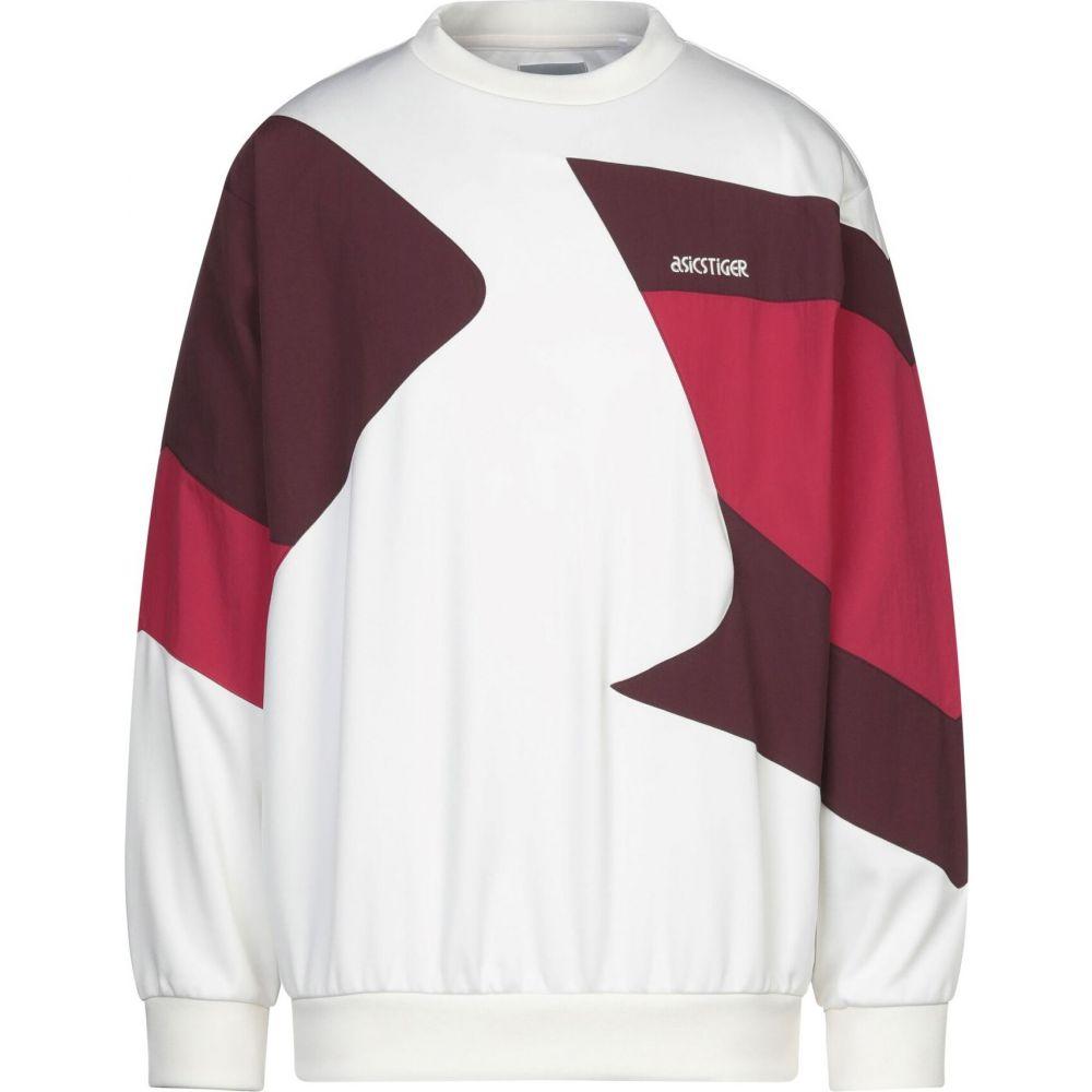 アシックス ASICS TIGER メンズ スウェット・トレーナー トップス【sweatshirt】Ivory