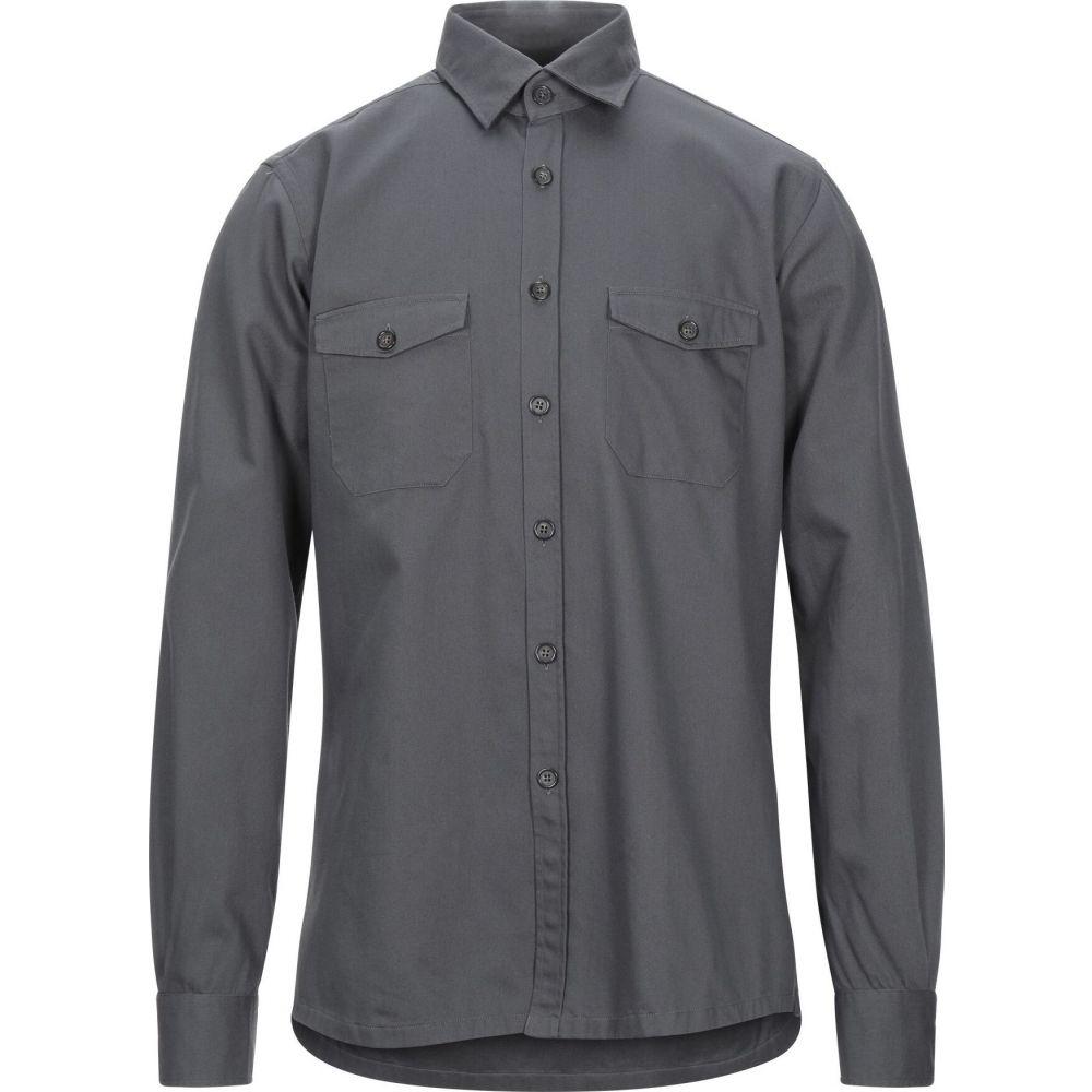 ザカス XACUS メンズ シャツ トップス【solid color shirt】Lead