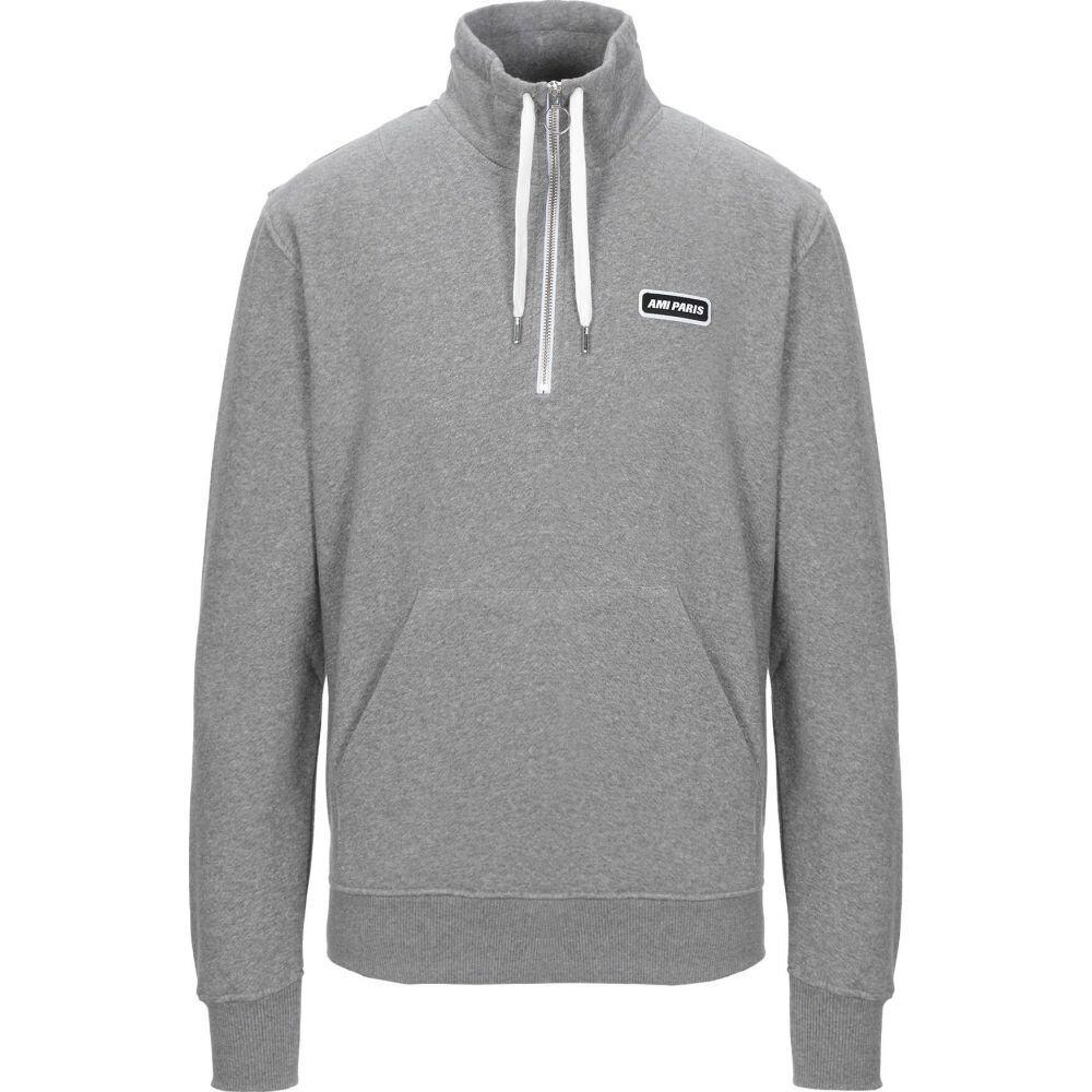アミアレクサンドルマテュッシ AMI ALEXANDRE MATTIUSSI メンズ スウェット・トレーナー トップス【sweatshirt】Grey