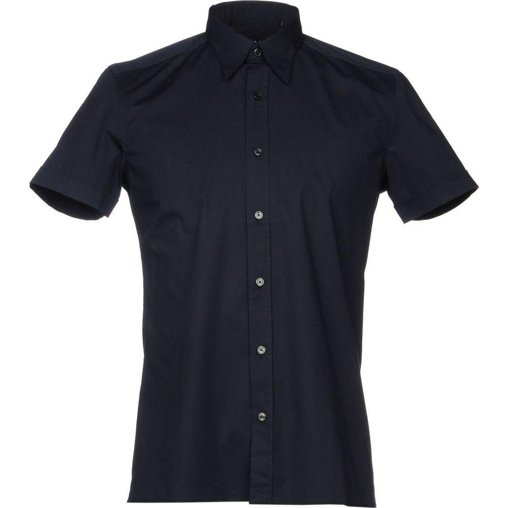 ザカス XACUS メンズ シャツ トップス【solid color shirt】Dark blue