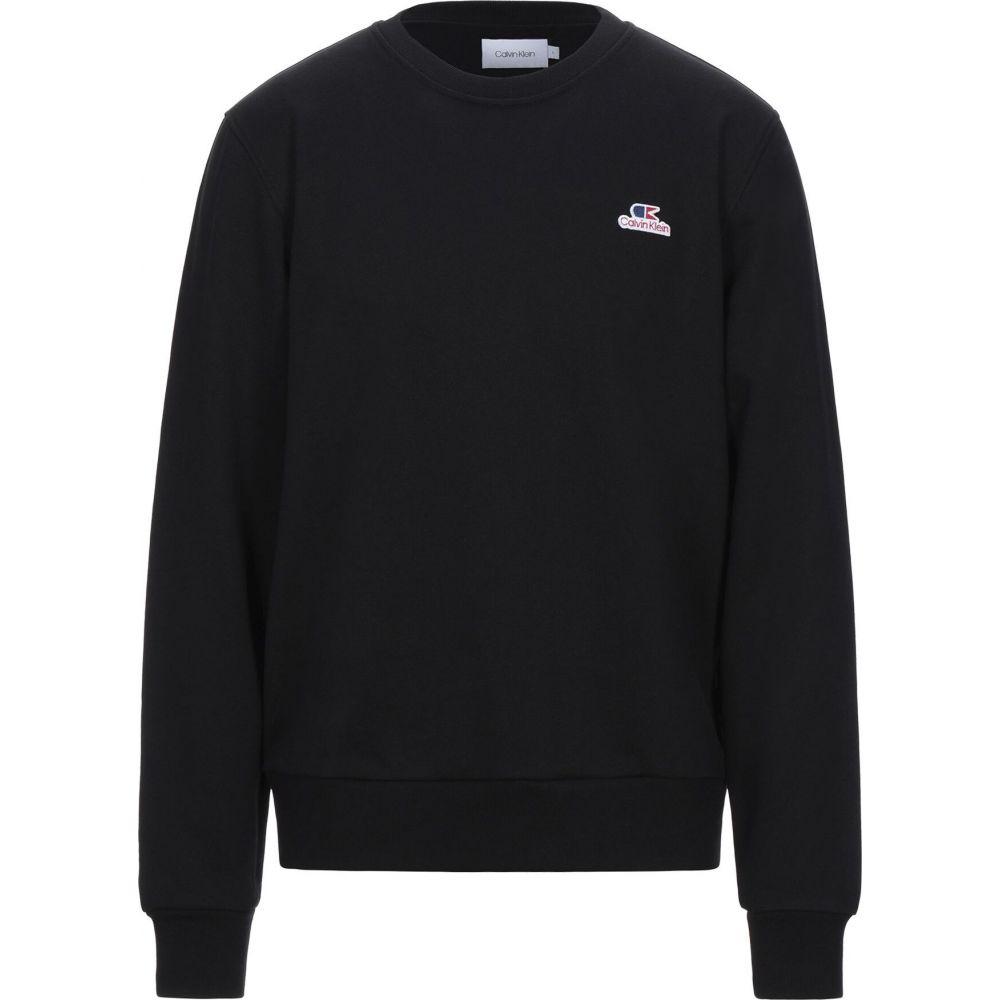カルバンクライン CALVIN KLEIN メンズ スウェット・トレーナー トップス【sweatshirt】Black