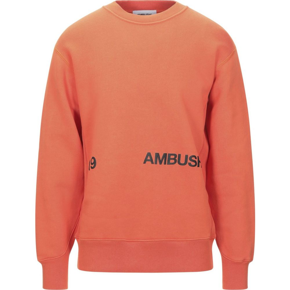 アンブッシュ AMBUSH メンズ スウェット・トレーナー トップス【sweatshirt】Orange
