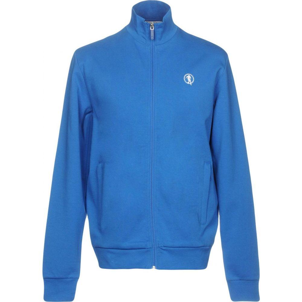 ビッケンバーグ BIKKEMBERGS メンズ スウェット・トレーナー トップス【sweatshirt】Bright blue