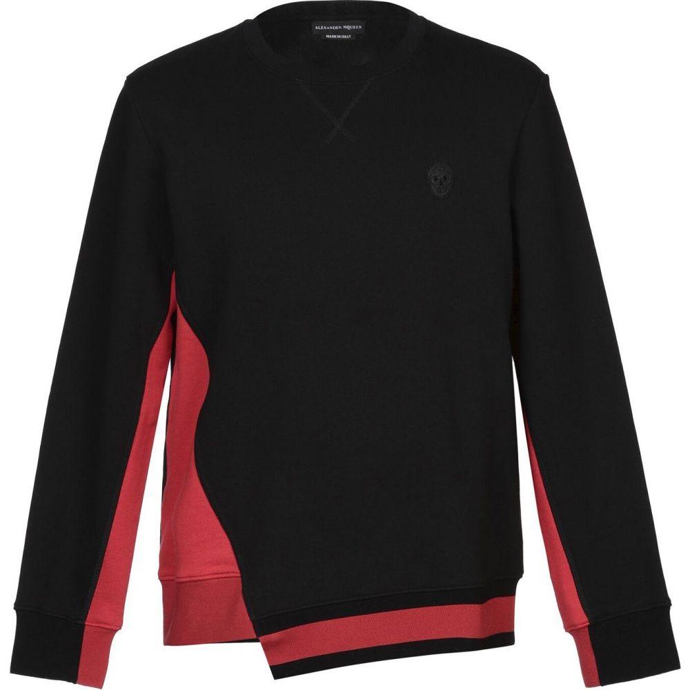 アレキサンダー マックイーン ALEXANDER MCQUEEN メンズ スウェット・トレーナー トップス【sweatshirt】Black