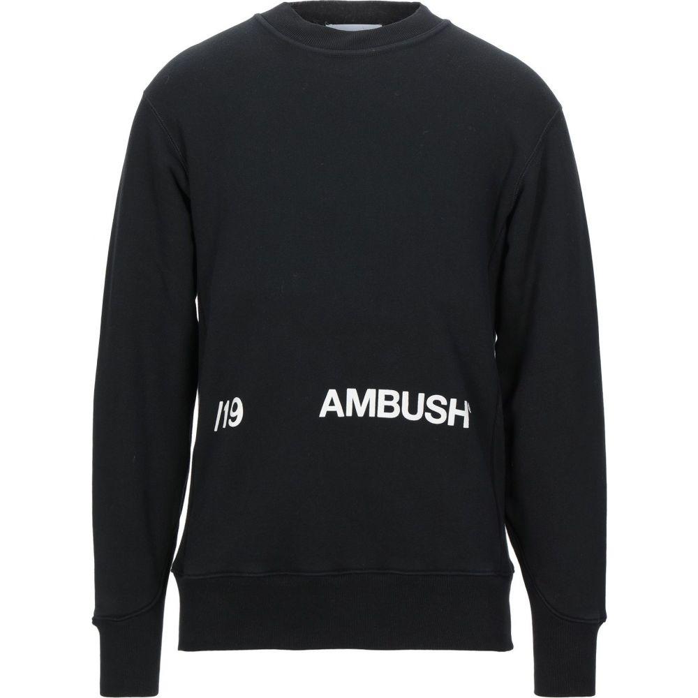 アンブッシュ AMBUSH メンズ スウェット・トレーナー トップス【sweatshirt】Black