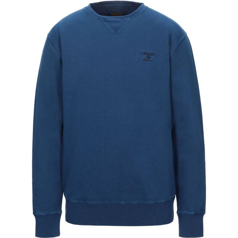 バブアー BARBOUR メンズ スウェット・トレーナー トップス【sweatshirt】Dark blue