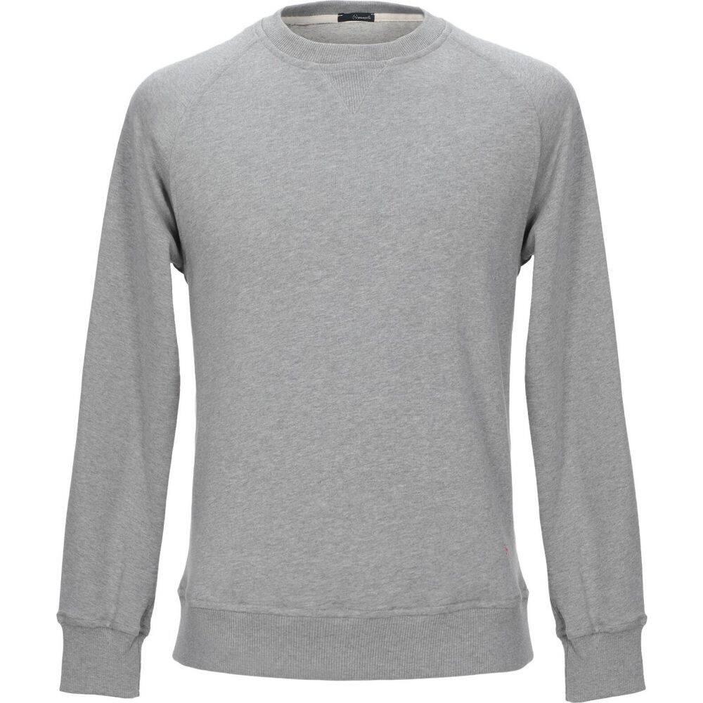 プラスピープル (+) PEOPLE メンズ スウェット・トレーナー トップス【sweatshirt】Light grey