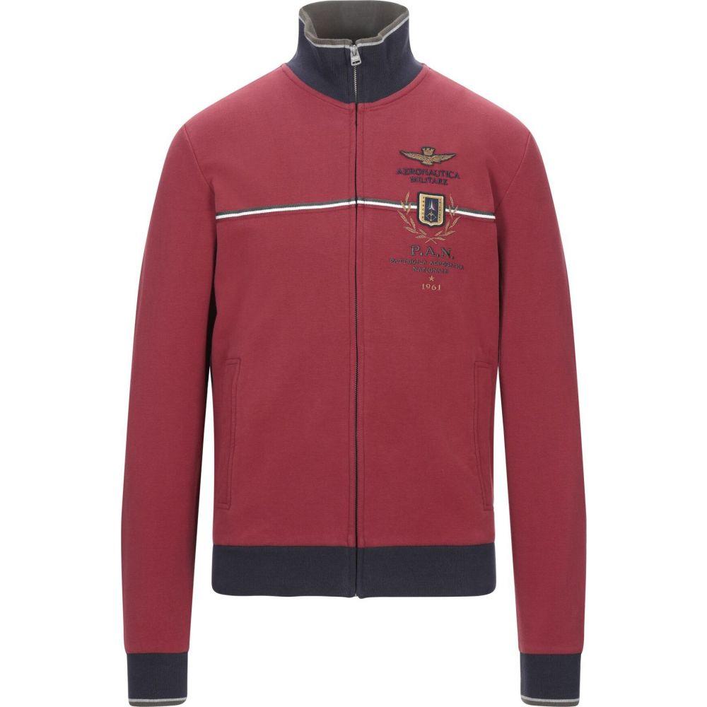 アエロナウティカ ミリターレ AERONAUTICA MILITARE メンズ スウェット・トレーナー トップス【sweatshirt】Brick red