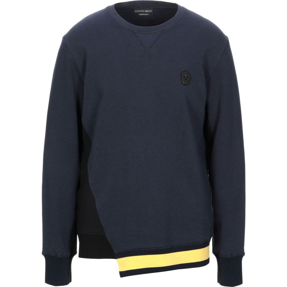 アレキサンダー マックイーン ALEXANDER MCQUEEN メンズ スウェット・トレーナー トップス【sweatshirt】Dark blue