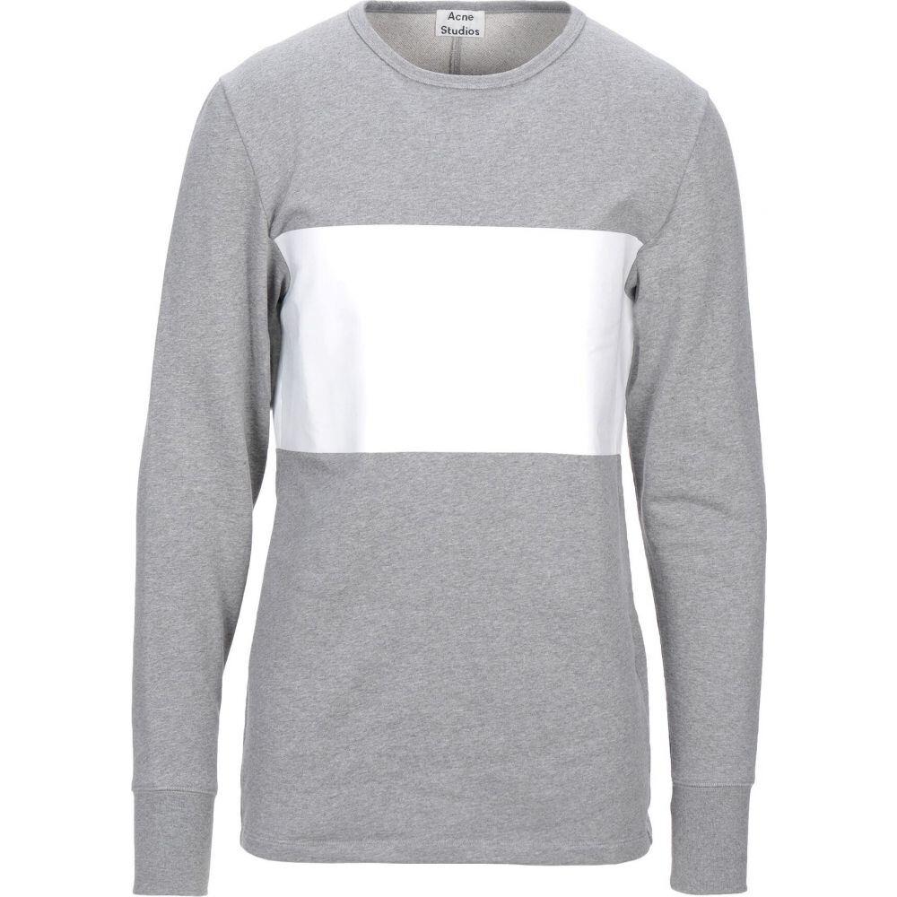アクネ ストゥディオズ ACNE STUDIOS メンズ スウェット・トレーナー トップス【sweatshirt】Light grey