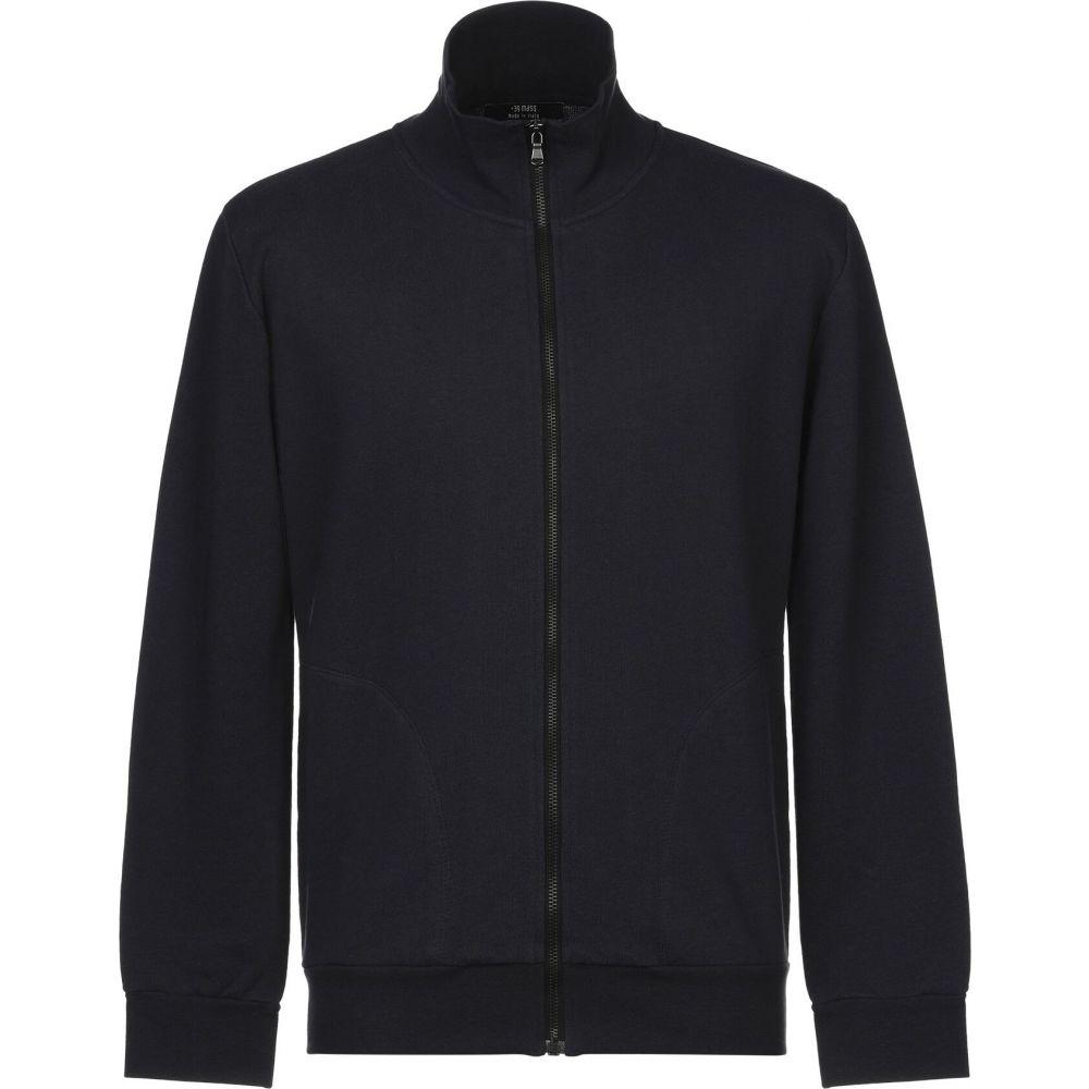 ブランド品 マスク メンズ トップス スウェット トレーナー Dark sweatshirt +39 MASQ blue お得なキャンペーンを実施中 サイズ交換無料